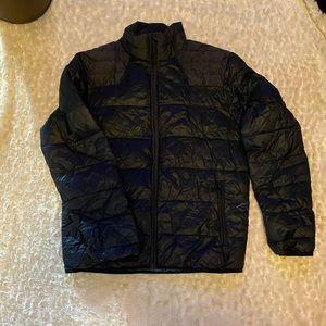 CK~Calvin Klein Men's Black Down Jacket Sz Small